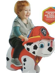 Plush Paw Marshall Ride On Electric Car Toys For 1 2 3 4 Year Olds Kids Boys 6V
