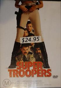 Super Troopers (DVD, 2002)
