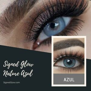 Signed Glow Color Changing Eye - Your Eye Color (Azul )