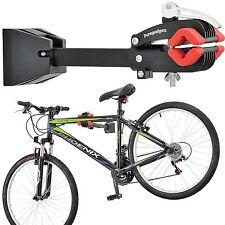 SUPPORTO a parete Heavy Duty Bici Manutenzione Meccanico Riparazione Pieghevole Pinza PRO
