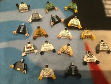 lego star wars Minifigure bodies /  torsos  x 18