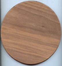 "Wooden Basket Bottoms Lot Walnut 8"" Round"