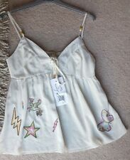 *BNWT LAURA FOR TOPSHOP SIZE S UNICORN STRAPPY SUMMER VEST/CAMI TOP**