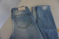MAISON SCOTCH Jeans slim skinny stretch Hose 26/32 W26 L32 hellblau blau TOP #9