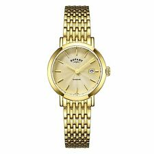 Women's Silver Case Stainless Steel Strap Wristwatches