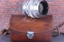 RARE KMZ SILVER HELIOS-40 SUPER BOKEH 1,5/85mm Soviet SLR lens M39 /#633014