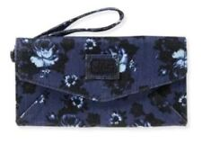 Aeropostale Floral Denim Envelope Wallet