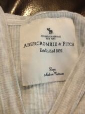New Abercrombie And Fitch Womens Hooded Shirt Large Short Sleeve  Grey