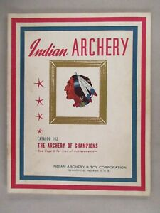 Indian Archery CATALOG - circa 1941 ~~ bow, arrow, archer