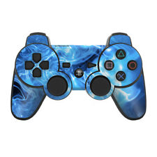 Sony PS3 Controller Skin - Blue Quantum Waves - DecalGirl Decal
