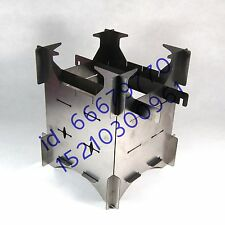 MY stainless wood stove windscreen outdoor picnic caming alcohol stand travel