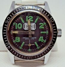 Vintage Ladies Diver Watch RM 1980 s.