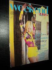 WEEKEND LE VIF 97/13 (14/3/97) COURTNEY LOVE BENOIT POELVOORDE ALAIN DELON