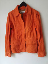 Damen Jeans Jacke CLOSED Gr 36 S orange Baumwolle Top Zustand