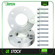 2X 30mm Hubcentric Wheel Spacers 5x120 12x1.5 For BMW M6 633I 635I 645Ci 650i