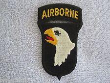 "101st Airborne Division ""Screaming Eagles"" w/Airborne Tab Vietnam Style Airborne"