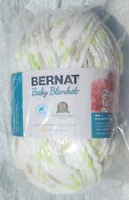 Bernat Baby Blanket in Sweet Pea Cloud 10.5oz/300gm - NIP & Smoke Free Home
