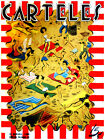 """11x14""""Poster on CANVAS Poster.Room art.Carteles cover.Comic beach scene.6879"""