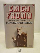 PSICOLOGIA: E. Fromm, Grandezza e limiti del pensiero di Freud, Mondadori 1979