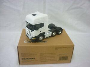 Cararama Modern Truck/Heavy Haulage Scania Topline Plain White Unit.