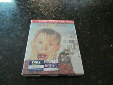 Home Alone Blu Ray DVD Steelbook Best Buy Exclusive One Cent New Sealed Look!
