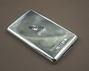 new 30gb metal back rear housing case cover shell for ipod 5th gen video