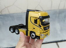 1:43 China truck DF Dongfeng Tianlong tractor-truck tractor model yellow