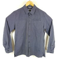 G-Star Hemd Correct Nova CH Shirt L/S Herren XL Blau Weiß Gestreift Langarm