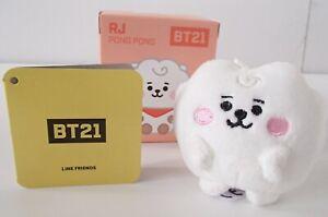 BNIB Genuine & Official BTS BT21 Plush Baby Pong Pong RJ UK Seller Army Kpop