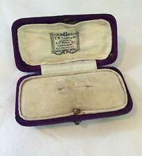 Brooch Box Edwardian  Antique  Cardiff (1258J)