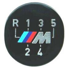 Genuine BMW  M  5 speed gear knob stick shift decal logo emblem. OEM E30 E28 E24