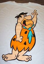 Hanna-Barbera THE FLINTSTONES FRED FLINTSTONE T-Shirt XL NEW