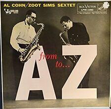 Al Cohn / Zoot Sims Sextet - From A To Z - RCA Victor - 1957 - MONO - Vinyl