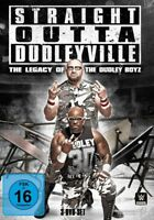 STRAIGHT OUTTA DUDLEYVILLE THE LEGACY OF THE DUDLEY BOYZ 3 DVD NEU