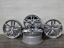 Für VW Touran 5T 5T1 18 Zoll Alufelgen MAM RS3 SL 8x18 ET45 Silber