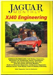 JAGUAR XJ40 1986-94 BRAKES SUSPENSION GEARBOX AIR-CON ELECTRICS OVERHAUL MANUAL