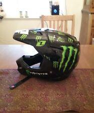 One Industries Kombat Motocross Helmet-Monster Energy