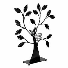 Bird Nest Jewelry Tree Earring Holder Bracelet Necklace Organizer Stand Design