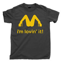 SLASH T Shirt IM LOVIN IT Parody McLovin Funny Tee