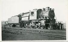 6B023 RPPC 1940/50s CENTRAL RAILROAD NEW JERSEY CAMELBACK LOCO #758