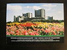UNO Wien Jahressammelmappe 1990 komplett gestempelt (B 330)