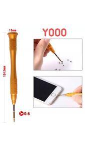 Repair Tool 0.6*25mm Y-type Screwdriver For iPhone 7/7G Plus/8/8Plus/XS Triwing