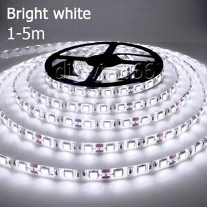 5V Bright White LED Strip Light USB Powered TV PC Back Mood Lighting Xmas Lamp