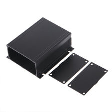 100x88x39mm DIY Aluminum Case Electronic Project PCB Instrument Box Black