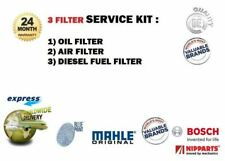 FOR JEEP COMMANDER 3.0 DT SUV 2005-> SERVICE KIT OIL AIR FUEL FILTER ( 3 ) SET
