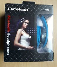 EXCELVAN FOLDABLE 3.0 WIRELESS BLUETOOTH STEREO HEADPHONES WITH SOFT EAR PADS