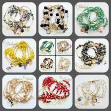 12 Semanarios Chapa Oro Estilo Coctel | Mayoreo |12 Gold Plated Bracelet