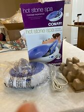 Conair Body Benefits Heated Stone Spa Hot Rocks Therapy Open Box