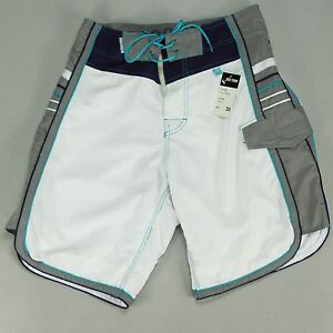 Zoo York Short Board Shorts Brand New White in Size 30,