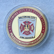 Baltimore Fire DEPT. Challenge Coin
